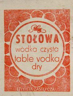 Polish vodka Polish Recipes, Retro, Childhood, Colours, Memories, Graphic Design, Drink, Vintage, Art