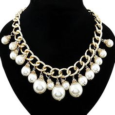 Pearl Short Necklace – EUR € 9.19