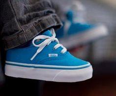 Imagen de vans, baby, and blue