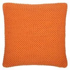 Clementine Pebble Cushion | Orange Cushion | Colours for Autumn | ColourPuff.com