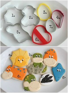 Dinosaur Face Cookie Cutters