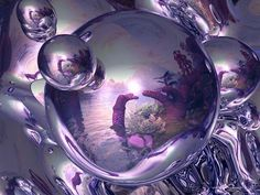 Purple Fantasy - a beautiful glimpse into a purple fantasy world - could be the Realm of the Purple Dragon! <3