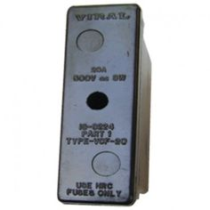 Buy Bakelite Fuse Fitting (2A to 63A) VCHC-63 at our Online Purchase & Business Portal..