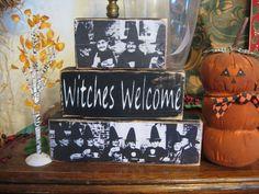 Halloween Witch Decorative Blocks | Halloween Wikii