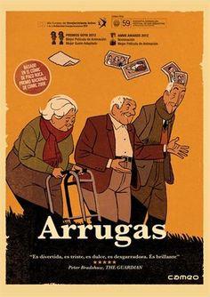 Arrugas (DVD ANIMACIÓ ARR), basada en el còmic homònim de Paco Roca.