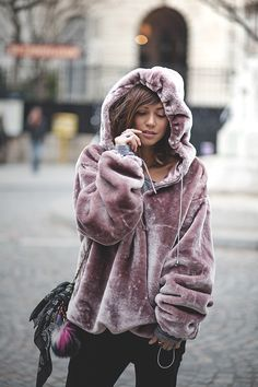soft lilac bear jacket...