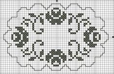 Crochet Placemats, Crochet Doily Patterns, Thread Crochet, Crochet Doilies, Cross Stitch Borders, Cross Stitch Flowers, Cross Stitch Charts, Cross Stitch Patterns, Crochet Carpet