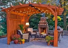 Cool backyard space