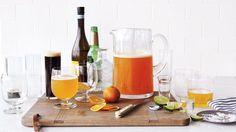 Orange Wheat Shandy Recipe & Video   Martha Stewart