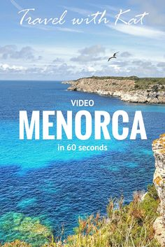 I recently spent a fabulous long weekend discovering the island of Menorca, it's stunning land and seascapes, fabulous food and fascintaing history. To give you a tempting glimpse, here's the second video in my new series 'The World in 60 Seconds' featuring this beautiful island.