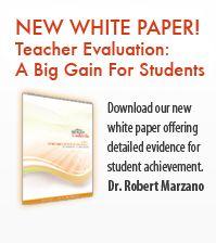 Dr. Marzano's Suite for Improving Teacher Effectiveness