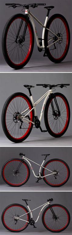 TrueBike 36er, la primera bicicleta con ruedas de 36 pulgadas ya está aquí