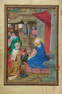 + The Epiphany of the Lord, Year A, January 6, 2017 + Et adorabunt eum omnes reges universae nationes servient ei. image: Simon Bening (Flemish, about 1483 - 1561): The Adoration of the Magi, about 1525 - 1530, Tempera colors, gold paint, and gold leaf on parchment, Leaf: 16.8 × 11.4 cm (6 5/8 × 4 1/2 in.), The J. Paul Getty Museum, Los Angeles.