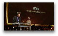 Brent Fischer Accepting the GRAMMY Award for ¡Ritmo!