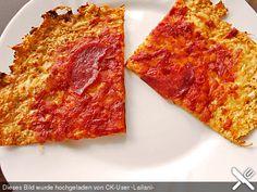Pizzaboden sehr kalorienarm