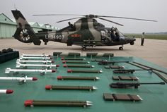 PLA Harbin Zhi-9W Attack Helicopter, Weapons Load.
