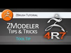 ZBrush 4R7 tutorial: ZModeler tips & tricks