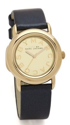 Marc by Marc Jacobs Marci Mirror Watch Marc Jacobs Watch, Just Shop, Fade Styles, Purse Styles, Cool Watches, Girly Things, Love Fashion, Jewelry Watches, Jewelry Accessories