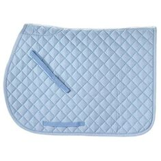 A favorite all purpose saddle pad of every horse! Lightweight and comfortable, the Rider's International Quilted Cotton Saddle Pad comes in tons of colors. So pick your favorite and make your horse look his best!