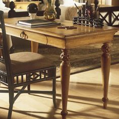 $674 Now For Sale At Better Than New! Tommy Bahama Bungalow 4 Leg Writing  Desk