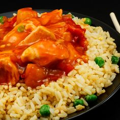 Children love sweet and sour chicken