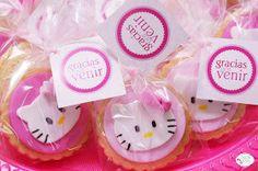 mis dulces tentaciones - tartas, galletas, cupcakes & buffet de dulces, party decorations : Buffet Dulce Hello Kitty