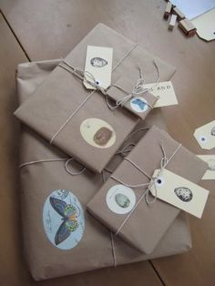 More brown paper packages by rosanna