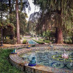 Parque Maria Luisa - Sevilla, Spain