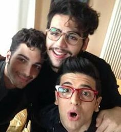 our funny and handsome guys including gian and his curls!!