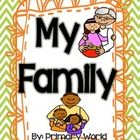 "Differentiated Literacy activities to supplement Second Grade HMH Journeys Reading Series story ""My Family"".  Includes: ABC Order Activities for Target and High ..."