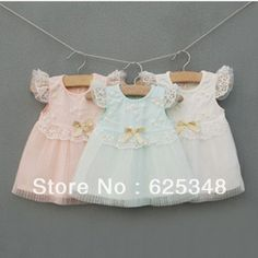 Free Shipping Top Sale 2013 IDEA New Princess Girls Summer Children's Lace Dresses,Baby Girl Clothes, pink, white and bule-in Dresses from Apparel & Accessories on Aliexpress.com