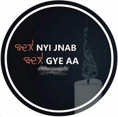 @manidrehar❤ Gurbani Quotes, Truth Quotes, Mood Quotes, Lyric Quotes, Girl Quotes, Qoutes, Punjabi Attitude Quotes, Punjabi Love Quotes, Indian Quotes