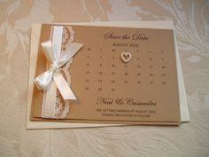save the date karte | kalenderblatt | wedding, weddings and diy, Einladungen