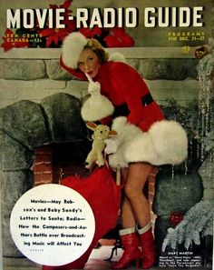 Mary Martin on the cover of The Movie Radio Guide December 1949