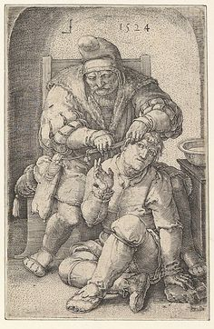 The Surgeon Artist: Lucas van Leyden (Netherlandish, Leiden ca. 1494–1533 Leiden) Date: 1524 Medium: Engraving