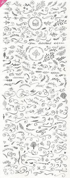 The Handsketched Designers Kit - Illustrations #doodles