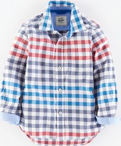 Mini Boden Laundered Shirt Hotchpotch Gingham Mini Boden, Can be worn straight off the washing line with an attractively rumpled look or ironed out for those smarter occasions. Pure soft cotton in stripes or checks. http://www.comparestoreprices.co.uk/kids-clothes--boys/mini-boden-laundered-shirt-hotchpotch-gingham-mini-boden-.asp