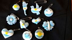 Polymer Clay, Drop Earrings, Cool Stuff, Rotary, Crafts, Jewelry, Cold, Cold Porcelain, Craft Studios