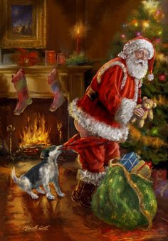 Santa Claus, St. Nick, Father Time, Kris Kringle #Santa ~~  Marcello Corti - XM1841a.jpg
