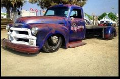 54 chevy bobtail dually laid out