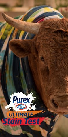Purex® plus Clorox 2®has the POWER to take on  of your wildest stains! http://www.purex.com/laundry/purex-plus-clorox-2-presents-the-ultimate-stain-test/
