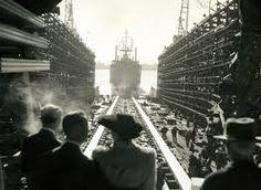 Kaiser Shipyard, Vancouver, WA, WWII