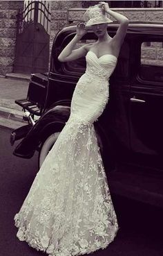 This Vintage Wedding Dress Is Perfection Lace