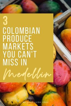 Taste Colombian culture at these top fresh food markets in Medellin. Visit Colombia, Colombia Travel, Latin Travel, Fresh Food Market, Colombian Culture, South America Travel, Foodie Travel, Central America, Travel Inspiration