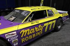 Marty Robbins Race Car