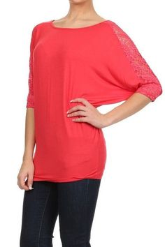 Relaxed Jersey Plus Top