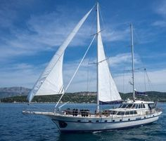 ALBA - Motor sailer available to charter in the East Mediterranean - make a quick enquiry now.