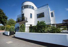 1930s Blenkinsopp and Scratchard designed art deco house in Castleford, West Yorkshire.
