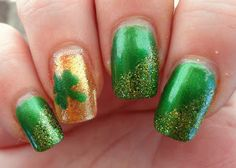 Glossy and Glitter: St. Paddy's Day