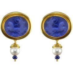 Elizabeth Locke Jewelry | 1STDIBS.COM Jewelry & Watches - Elizabeth Locke Intaglio and Pearl…